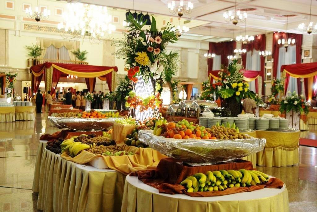Makanan Lezat Kunci Resepsi Pernikahan Sukses