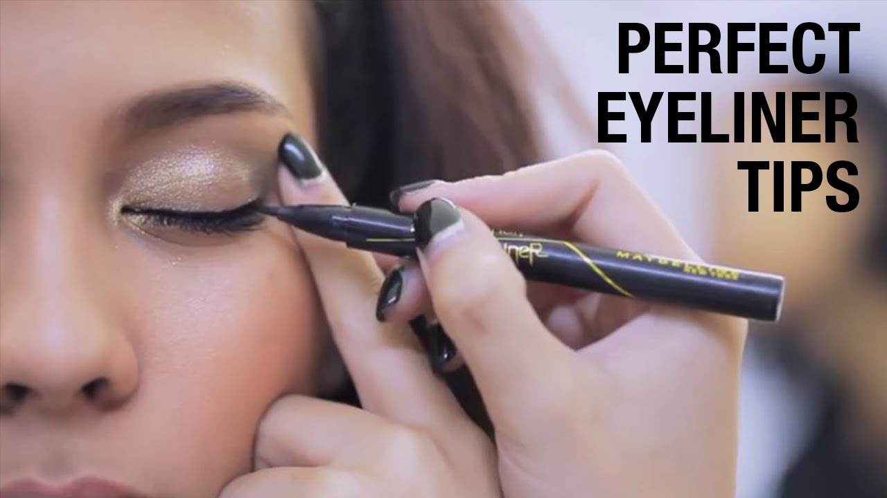 Tips Sederhana Dalam Penggunaan Eyeliner Maybelline